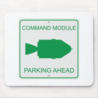 Command Module Parking Mouse Pad