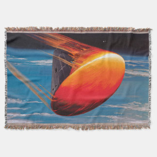 Command Module Re-entry Throw Blanket
