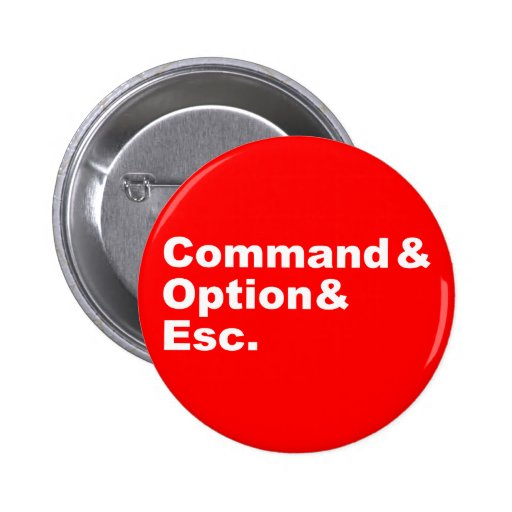 Command & Option & Esc Button