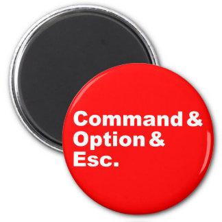 Command & Option & Esc Magnet