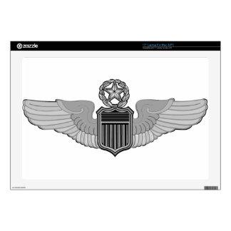 "COMMAND PILOT WINGS 17"" LAPTOP SKINS"