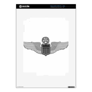 COMMAND PILOT WINGS DECALS FOR THE iPad 2