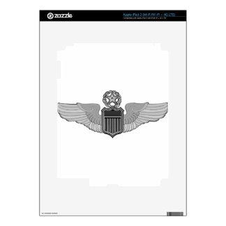 COMMAND PILOT WINGS iPad 3 DECALS