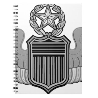 COMMAND PILOT WINGS NOTEBOOK