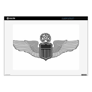 "COMMAND PILOT WINGS SKINS FOR 15"" LAPTOPS"