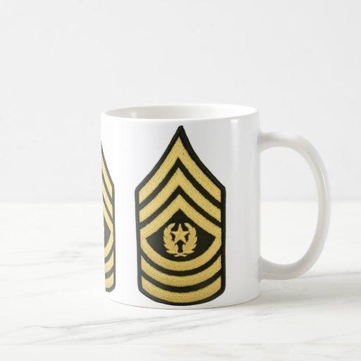 COMMAND SERGEANT MAJOR COFFEE MUG