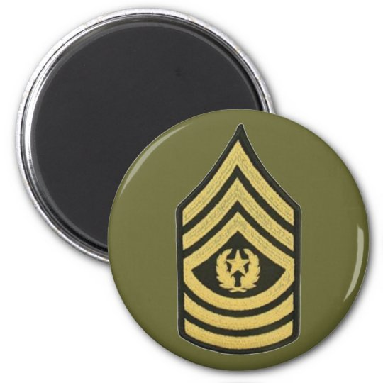 COMMAND SERGEANT MAJOR MAGNET