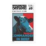 Commander in Beef Postage
