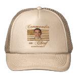 Commander in Chief, Barack Obama Mesh Hat