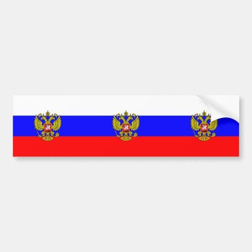 Commander In Chief Of Russia, Russia Bumper Sticker