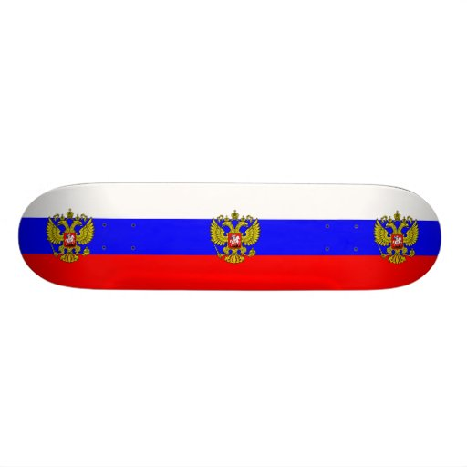 Commander In Chief Of Russia, Russia Skateboard Deck