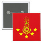 Commander-In-Chief Of The Royal Thai Army, Thailan Pinback Button