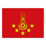 Commander-In-Chief Of The Royal Thai Army, Thailan Cards