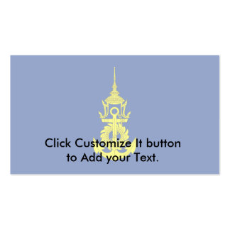 Commander-In-Chief Of The Royal Thai Navy, Thailan Business Card Templates