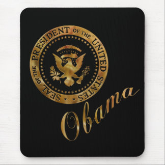 Commander in Chief, President Barack Obama Mouse Pad