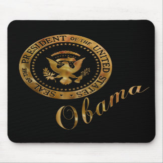 Commander in Chief, President Barack Obama Mouse Pads
