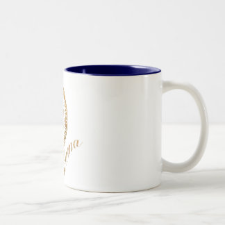 Commander in Chief, President Barack Obama Two-Tone Coffee Mug