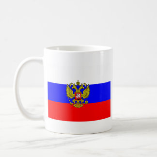 Commander in chief Russia, Russia Classic White Coffee Mug