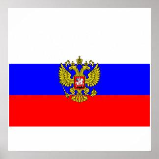 Commander in chief Russia, Russia Poster