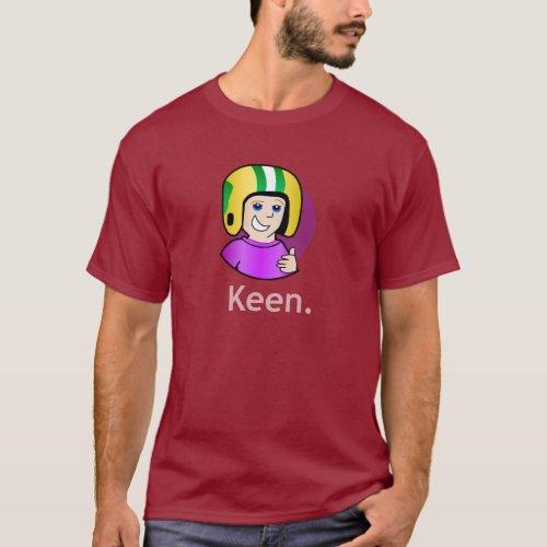 Commander Keen Mens Dark Maroon T_Shirt