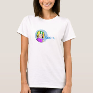 Commander Keen Women's Baby Doll T-shirt