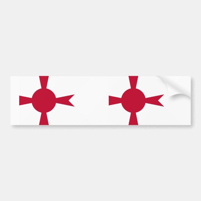 Commander Of Imperial Japanese Navy, Japan flag Bumper Sticker