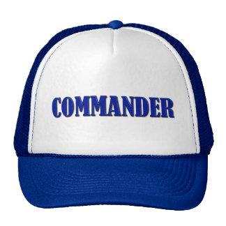 Commander - Thin Blue Line Trucker Hat
