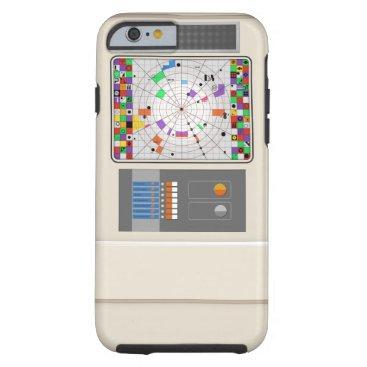 Commander's Office Screen art Tough iPhone 6 Case