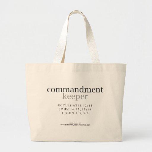 Commandment Keeper Tote