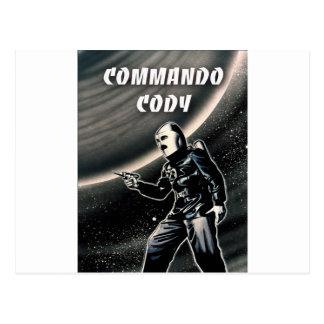 Commando Cody Postcard