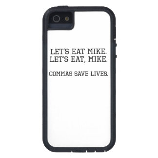 Commas Save Lives Case For iPhone 5