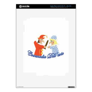 Commedia Dellarte Skins For iPad 3