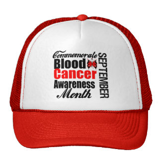 Commemorate Blood Cancer Awareness Month Hat