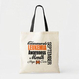 Commemorate Leukemia  Awareness Month Tote Bag