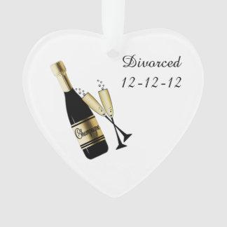 Commemorate Your Divorce Ornament