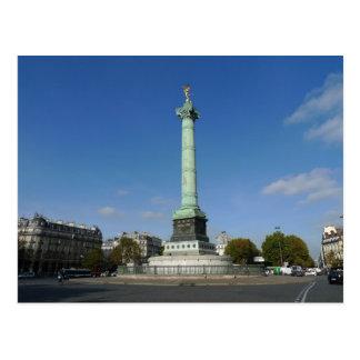 Commemorating  Storming the Bastille, 1900, Paris Postcard