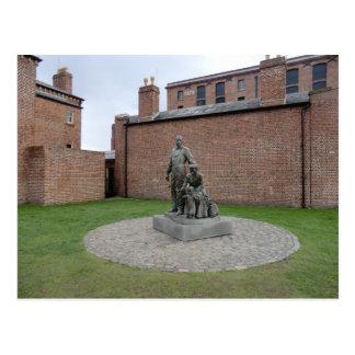 Commemoration of the Liverpool Emigrants Postcard