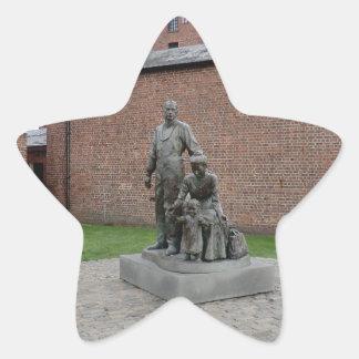Commemoration of the Liverpool Emigrants Star Sticker