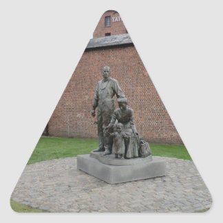Commemoration of the Liverpool Emigrants Triangle Stickers