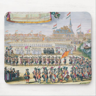 Commemoration of the Peace of Rijswijk, 1697 Mouse Pad