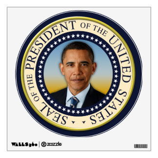 Commemorative 45th President Barack Obama Wall Sticker