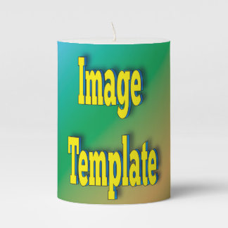 Commemorative Create Your Own Custom Personalized Pillar Candle