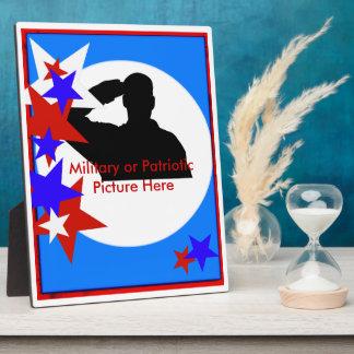 Commemorative Patriotic Plaque