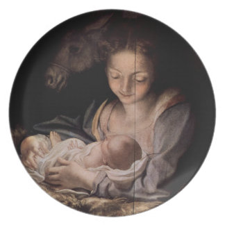 Commemorative Plate: Dew Divine Melamine Plate