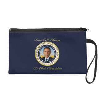 Commemorative President Barack Obama Re-Election Wristlet Purse