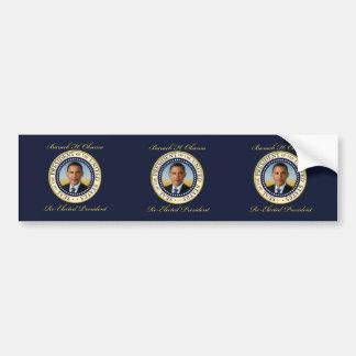Commemorative President Barack Obama Re-Election Car Bumper Sticker