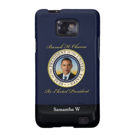 Commemorative President Barack Obama Re-Election Samsung Galaxy S2 Cover
