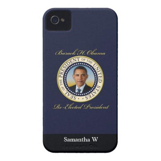 Commemorative President Barack Obama Re-Election Blackberry Case