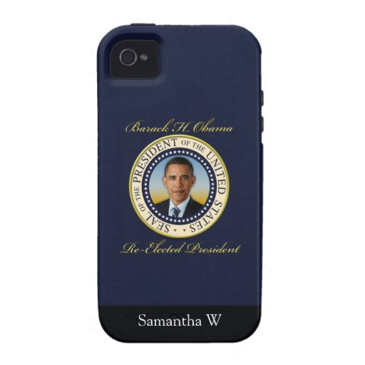 Commemorative President Barack Obama Re-Election iPhone 4/4S Cover