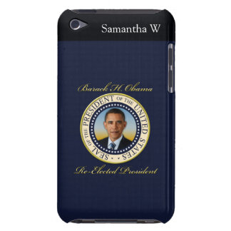 Commemorative President Barack Obama Re-Election Barely There iPod Case